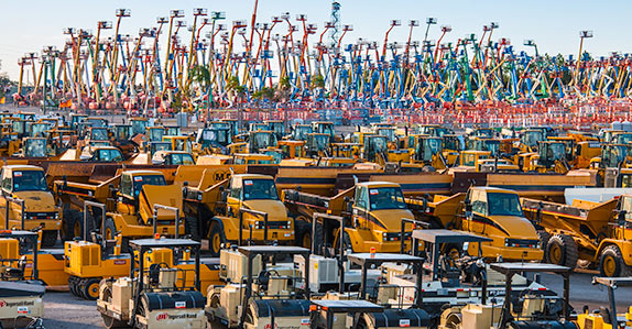 Used heavy equipment and Class 8 trucks for sale at Ritchie Bros.