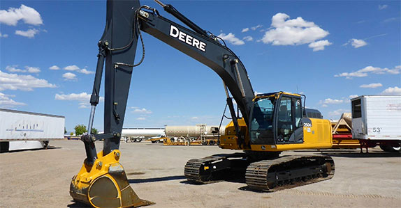 John Deere excavators for sale at Ritchie Bros.