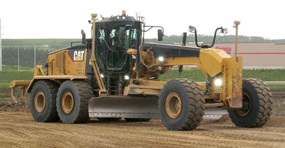 Heavy construction equipment for sale at Ritchie Bros.